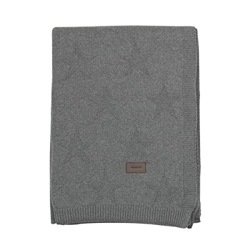 GANT Top Star Knit Strickdecke 150x200 Antracite