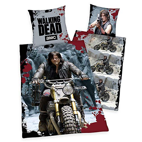 Joy Toy T23145 The Walking Dead Wendebett wäsche Daryl's Ride, Bunt