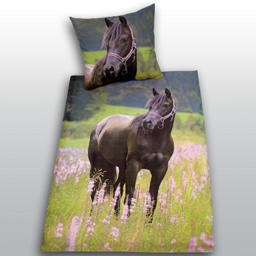 sch ne pferde bettw sche kaufen. Black Bedroom Furniture Sets. Home Design Ideas