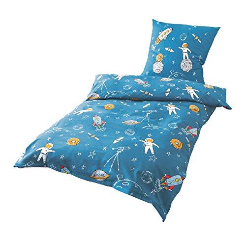 astronauten bettw sche astronautenanzug. Black Bedroom Furniture Sets. Home Design Ideas