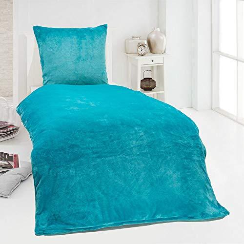 wundersch ne bettw sche petrol mit streifen oder kreisen. Black Bedroom Furniture Sets. Home Design Ideas