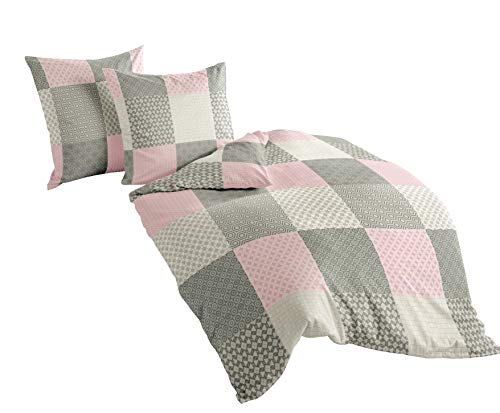 rosa bettw sche. Black Bedroom Furniture Sets. Home Design Ideas