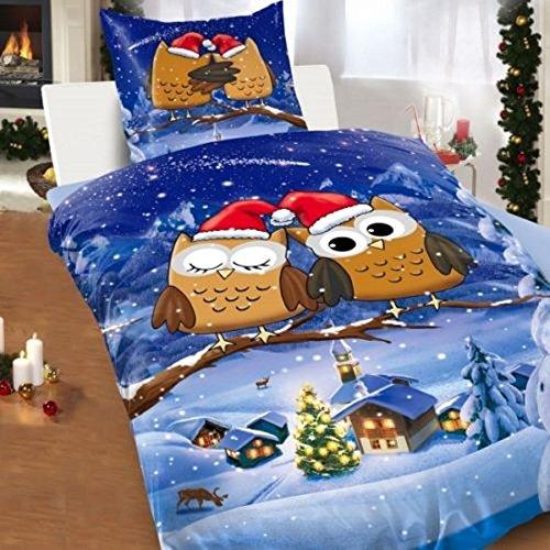 weihnachts bettwasche 155x220. Black Bedroom Furniture Sets. Home Design Ideas
