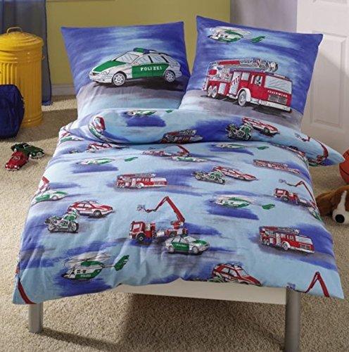 Feuerwehr Bettwäsche für Jungen