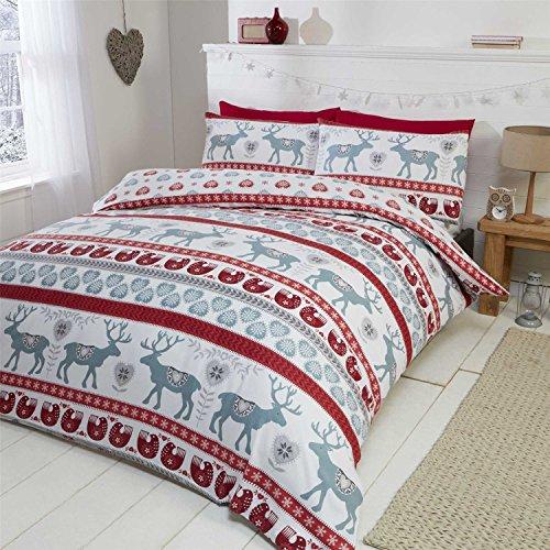 weihnachten bettw sche weihnachtsmotiv. Black Bedroom Furniture Sets. Home Design Ideas