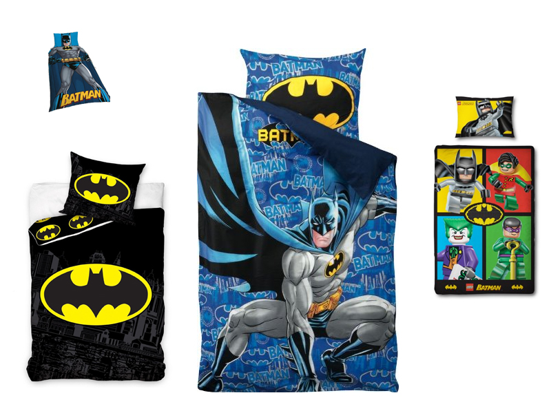 batman bettw sche z b 140x200 dark knight. Black Bedroom Furniture Sets. Home Design Ideas
