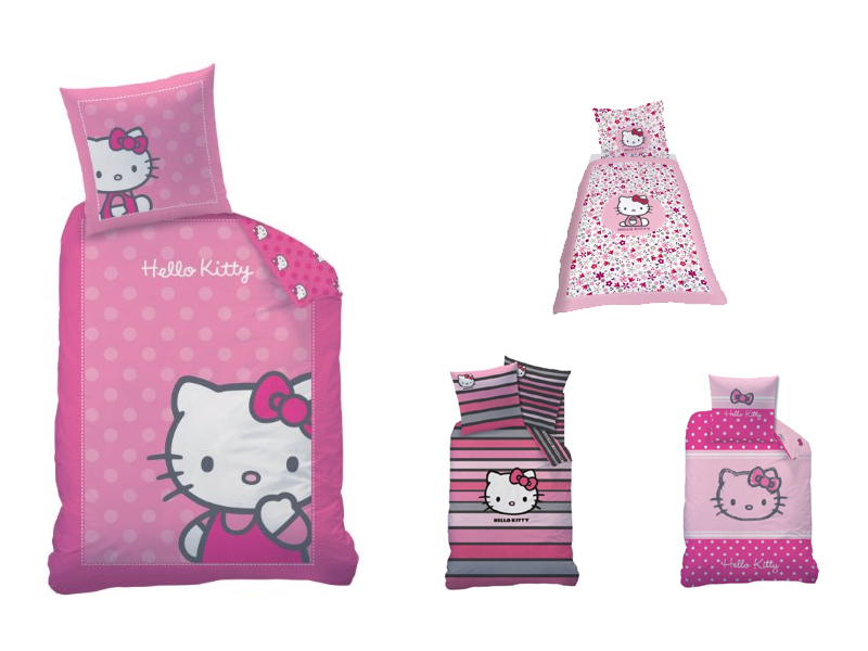 Süße Hello Kitty Bettwäsche