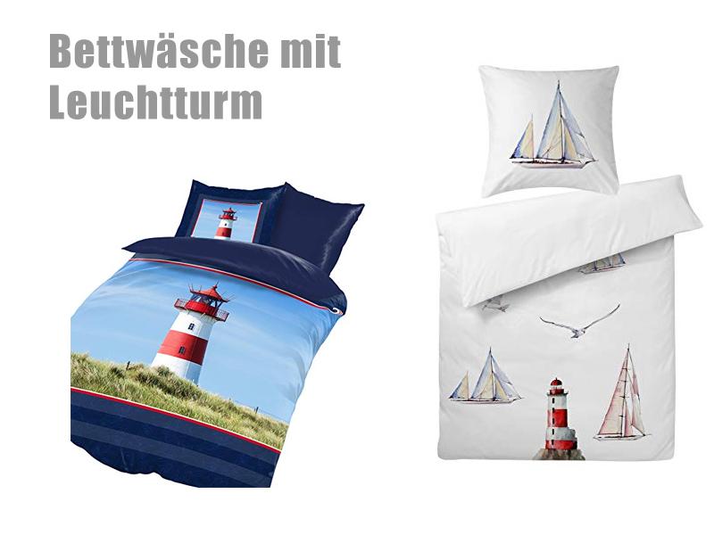 Kinderbettwäsche Leuchtturm.Mobel Wohnen Bettwaschegarnituren Bettwasche Baumwolle Renforce