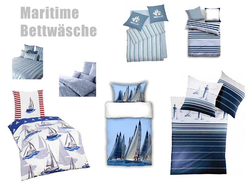 Maritime Bettwäsche